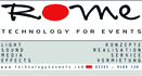 Rome Technology for Events_Logo Komplett